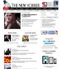 magazine layout inspiration gallery new yorker online magazine layout pinterest magazines website