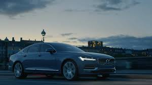 teal blue car all new s90 volvo cars