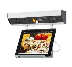 Kitchen Under Cabinet Kitchen Under Cabinet 2g Socket Station Usb Charging Audio System