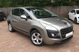 peugeot crossover used used 2013 peugeot 3008 1 6 e hdi 115 active ii 5dr egc for sale in