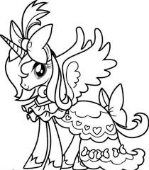 Coloring Pages Free Unicorn Coloring