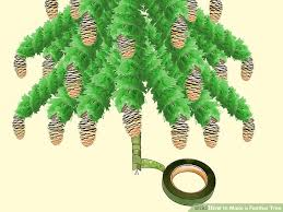 feather tree how to make a feather tree 9 steps with pictures wikihow