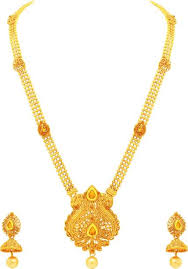 long yellow gold necklace images Long gold necklace buy long gold necklace online at best prices jpeg