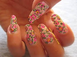easy floral nails with a toothpick youtube paulinas passionsroses