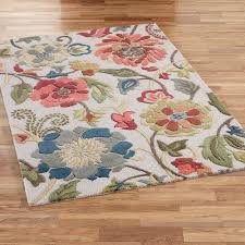 Floral Round Rugs How To Decorate Floral Area Rug On Round Rugs Dining Room Rugs