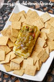 halloween party dips and appetizers green chili cream cheese dip lil u0027 luna