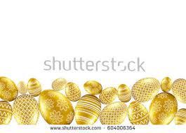 gold easter egg easter egg vector shapes free vector stock