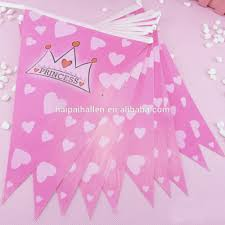 diy bunting paper flags yellow grid paper bunting birthday home