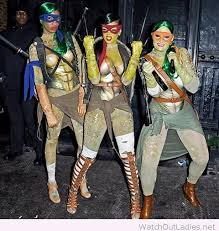 Ninja Turtle Halloween Costumes Rihanna Teenage Mutant Ninja Turtle Halloween Costume U2013 Watch