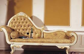chaise loungers french romantic classic handmade wooden bedroom
