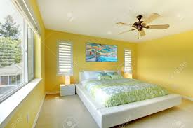 green and yellow bedroom homes design inspiration
