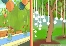 Wizard Of Oz Bedroom Decor How To Decorate For A Baby Shower 15 Steps With Pictures