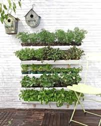 wall mounted herb garden wall planters planters and wall mounted
