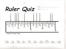 ruler measurement worksheets worksheets