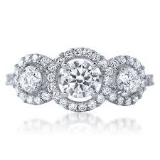 cubic zirconia halo engagement rings cz halo rings jewelure
