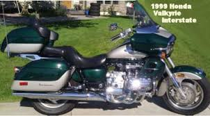 1999 honda valkyrie interstate w green and silver paint colour