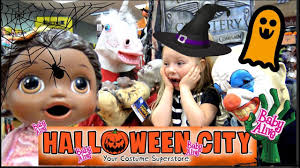 baby alive goes on a halloween city tour zombies and clowns the