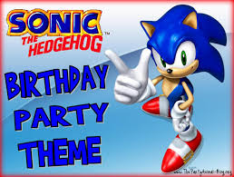 sonic the hedgehog party supplies sonic the hedgehog birthday party theme punkins fifth