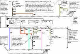 1994 1995 mustang ccrm ac wiring diagram pinout
