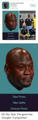 Crying Meme Generator - crying jordan meme generator david okun 29 take photo take self ie