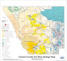 Wildfire Map National by Wildfire Maps Larimer County