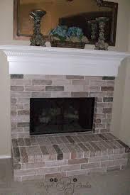 im a project junkie crackle paint fireplace mantel