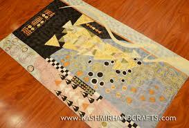 Modern Abstract Rugs Klimt Modern Abstract Rug 3ft X 5ft Kashmir Arts