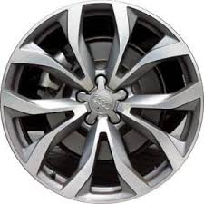 for audi a6 aly58897 audi a6 wheel grey machined 4g0601025g