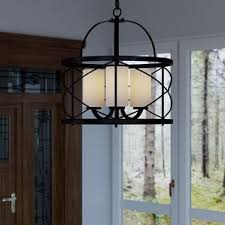 Large Foyer Lantern Chandelier Entryway U0026 Foyer Lighting You U0027ll Love Wayfair