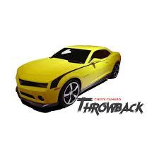 2010 camaro stripes chevy camaro throwback side accent hockey decal vinyl