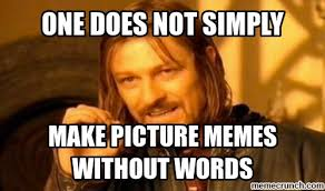 Meme Words - without words
