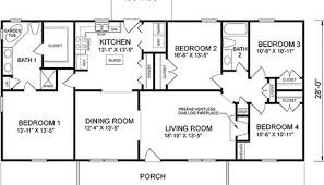4 bedroom house plans with basement winsome ideas 4 bedroom house plans with basement floor for ranch