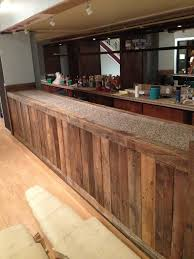 Diy Home Bar by My Girlfriend Is Opening A Cafe She Made This Bar Out Of Old