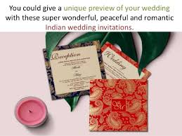 Indian Wedding Invite Indian Wedding Invitations With Ornate Paisley Design