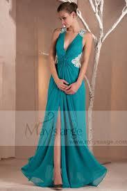 robe turquoise pour mariage robe de soirée 30 le de la mode