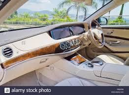 maybach car 2015 hong kong china aug 4 2015 mercedes maybach s 500 2015 interior