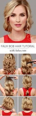 Bob Frisuren Tutorial by Best 25 Faux Bob Tutorial Ideas On Bob Victory