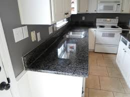 White Kitchen Cabinets With Gray Granite Countertops Caledonia Granite 4 12 13 Granite Countertops Installed In