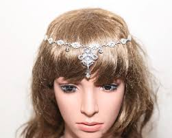 hair chains rhinestone bridal hair chains draping chains