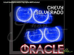 Led Car Lights Bulbs by 03 06 Chevrolet Silverado Led Dual Color Halo Rings Headlights Bulbs
