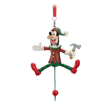 goofy articulated figural ornament shopdisney