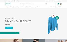bootstrap e commerce templates wrapbootstrap