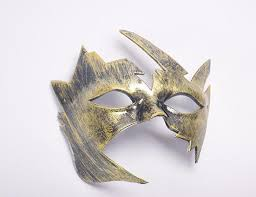 vintage design masquerade mask fancy mardi gras children party half