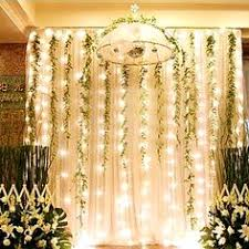 wedding backdrop lights led string l christmas decoration festival light