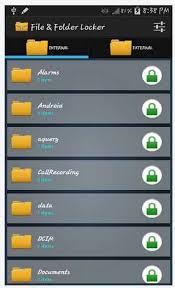 file folder locker apk for android