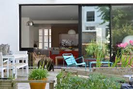 cuisine ouverte sur s駛our 33 maison d architecte sur 2 niveaux avec patio salon cuisine