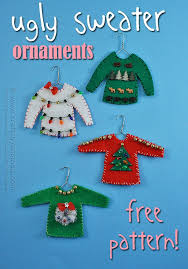 sweater ornaments recipe sweater ornaments and