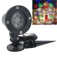 merry christmas snowflake lights moving sparkling led lights