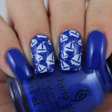 olivia jade nails lina nail art supplies born to sail 01 stamping