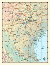 Map Of Austin Tx Southern Texas Wall Map Maps Com